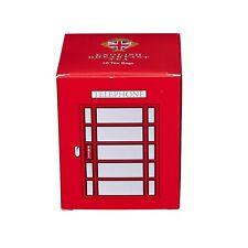 Mini Red Telephone Box - 10 Teabag Carton