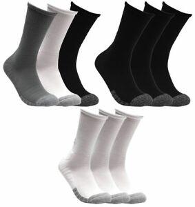 6 Paar Under Armour HeatGear Crew Socken Unisex Sportsocken