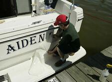 Boat Graphic Names Vinyl Signs,Decals, waterproof,