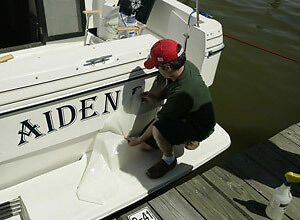 Personalised Boat/Yacht, Decals,Stickers,Names,Signs,