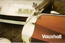 Vauxhall 1974-75 UK Foldout Brochure Viva Magnum Firenza Victor VX4/90 Ventora