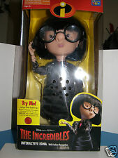 "Disney  "" Incredibles ""   Edna  New interactive & talking  Doll"