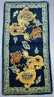 Antique Hand Made Chinese Dragons Tibetan Art Deco Oriental Wool Rug 138x70cms