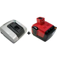 OFFRE dans le Lot: Chargeur + Batterie 14,4 V 3000 mAh pour Hilti sf144a sfh144a-cpc