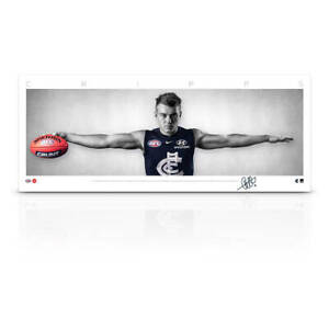 Patrick Cripps Signed Carlton Mini Wings Official AFL Print ONLY BRAND NEW