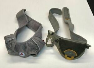 Ultimate Direction Water Waist belt Set of TWO - Speed 2/ Fury Gray