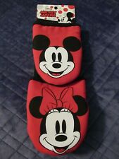 "Disney Mickey Mouse & Minnie Mouse 2 Pack Mini Mitts-New-5.5"" X 6.5"""