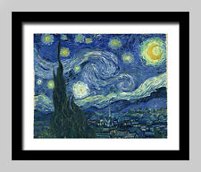 """Impressionism""""The Starry Night""""Oil Painting Print Canvas Decor(Unframed)Wall Art"""