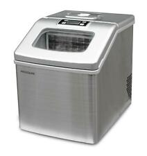 Frigidaire 40 Lbs Countertop Clear Square Ice Maker Automatic Stainless Steel