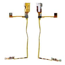 White Handsfree Audio Jack Volume Button Flex Cable For iPod Nano 5 5th Gen
