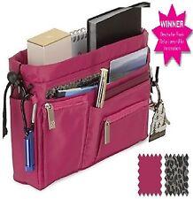 RRP £24.95 Handbag2Handbag luxury handbag organizer hot pink with leopard lining
