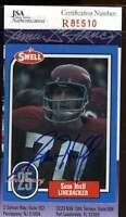 Sam Huff Jsa Coa Autographed 1988 Swell Authentic Hand Signed Giants