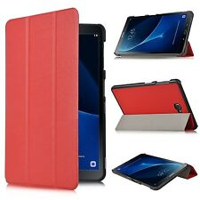 Slim Smart Cover Case Stand for Samsung Tab a 10.1 Inch 32gb Tablet Red