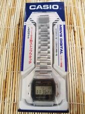 New! CASIO Standard Mens Watch A158WA-1JF Silver Japan Best Seller Model Import!