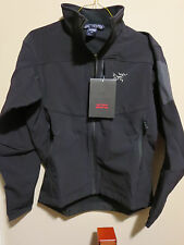 Mens New Arcteryx Gamma MX Jacket Size Small Color Blackbird Authentic