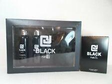 rue21 Rue 21 CJ BLACK Cologne Spray Fragrance + lotion lip balm wash gel set lot