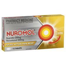 NUROMOL BETTER THAN NUROFEN HEADACHE PAIN INFLAMMATION - FREE SAME DAY POST!