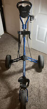 Bag Boy Push/Pull Golf Cart Caddy Sidekick 3-Wheel w/ Foot Brake