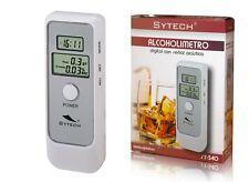 ALCOHOLIMETRO ALCOLIMETRO DIGITAL PORTATIL PANTALLA ACUSTICO SEÑAL ACUSTICA