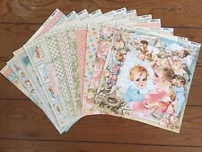 Graphic 45 Little Darlings 12x12 Double-sided Paper 12 different Sheets