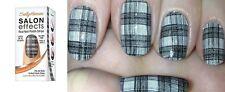 Sally Hansen Salon Effects Real Nail Polish Strips -550 Tweed-Le Dee- NIB