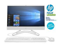 """HP All in One Computer 24"""" Windows 10 8GB 256GB Bluetooth WEBCAM (FULLY LOADED)"""