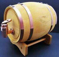Wooden Keg Authentic Mini Whiskey Barrel ~ Bar Décor