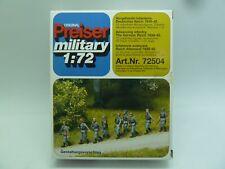 NEW PREISER MILITARY 1/72 WW2 GERMAN ADVANCING INFANTRY 72504 ARMY FIGURE KIT