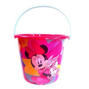 Minnie Mouse JUMBO Plastic Bucket Halloween Easter Party Favors Trick Treat