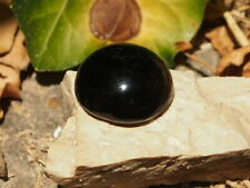 Black Obsidian Cabochon  5 g