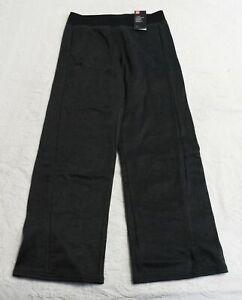 Under Armour Women's Fleece Open Hem Mid-Rise Sweatpants AM1 Grey Small NWT