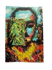 "New ListingOriginal painting 4x6"" acrylic on canvas paper"