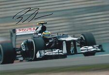 Bruno Senna Hand Signed 12x8 Photo Williams F1 2.