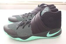 buy popular 0a287 090dd NEW Nike Mens Kyrie 2 II Basketball Shoes Black Green Glow 819583-007 Size  18