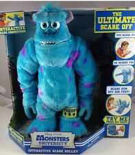 Disney Pixar Monsters University Plush Sulley Ultimate Interactive Scare Off