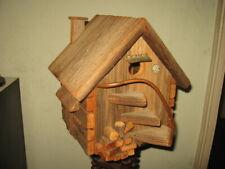 Rustic Wood Birdhouse Bird House