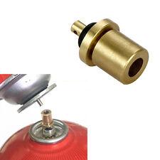 Adaptador De Recarga De Gas al Aire Libre Cilindro bote de accesorios Accesorios de Cobre