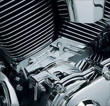 Kuryakyn Chrome Cylinder Base Cover for Harley Twin Cam Models 00-06