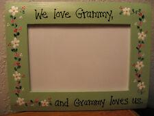 We love Grammy - Grandma Grandmother Nana Mothers Day photo picture frame