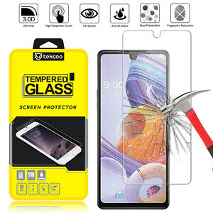 For LG Stylo 6/Stylo 4/5/5x/5v Plus HD Premium Tempered Glass Screen Protector