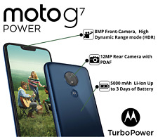 New Moto G7 Power -32GB (GSM UNLOCKED WORLDWIDE) AT&T,T-Mobile,Cricket