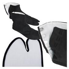 "Japanese Kimono 9.5"" Black Split Toe Tabi Socks w/ Hooks Kohaze Geta Sandals"