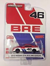 GREENLIGHT 1:64 NISSAN GT-R 35 BRE RACING MIJO EXCLUSIVE 2017 GTR