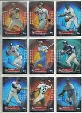 2011 Topps Prime 9 Moments 9-card Baseball Set  Derek Jeter Hank Aaron