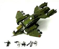 2010 Halo Mega Bloks ~ #96824 UNSC PELICAN GUNSHIP ~ With Instructions