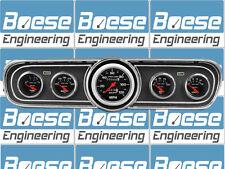 65 66 Mustang Black Dash Bezel w/ AutoMeter Sport Comp Gauges Instrument Cluster