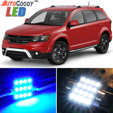 9 x Premium Blue LED Lights Interior Package for Dodge Journey 2009-2015 + Tool