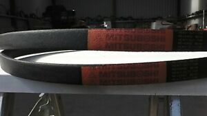 """Baroness LM180 / Saxon 76"""" triple mower , side cutter belts [one pair]"""