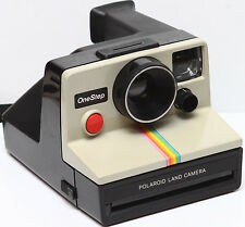 Classic Polaroid OneStep Rainbow SX-70 Film Camera Made in USA Fully Operational