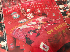 LIVERPOOL FC DUVET SET SINGLE RARE 2005 MIRACLE OF ISTANBUL CHAMPIONS OF EUROPE